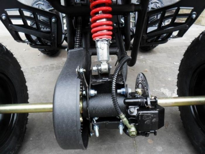 Predator 110cc 4 Stroke Quad Bike With Reverse - Red Thumnail #4