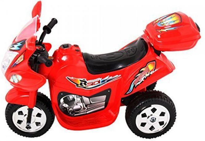 Childrens Trike 6v Ride On Toy - Red Thumnail #4