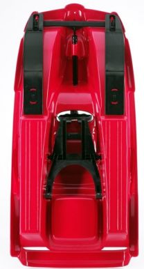 Snow Double Racer Red Sledge Toboggan