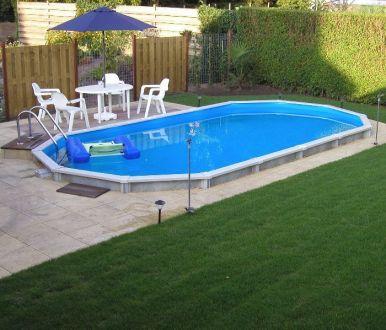 Doughboy Premier Oval Steel Pool 20ft X 12ft Steel Pools