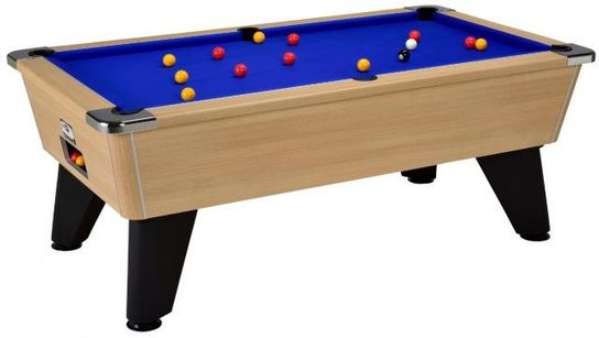 Omega Slate Bed Pool Table 7ft