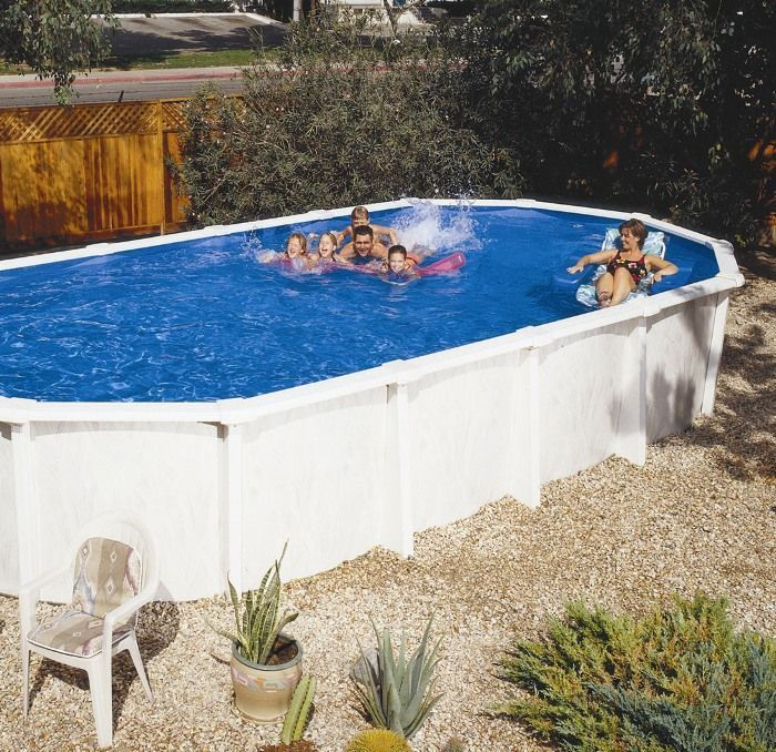 Doughboy Regent Oval Steel Pool 32ft X 16ft Steel Pools