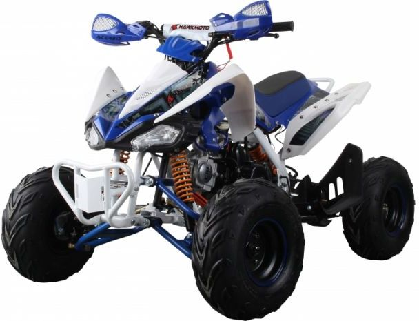 Interceptor 125cc 4 Stroke Quad Bike - Blue Thumnail #5