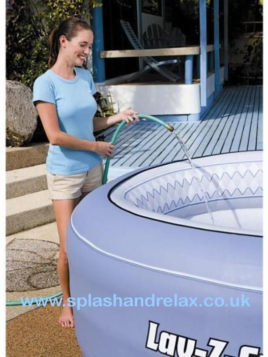 lay z spa vegas inflatable hot tub inflatable hot tubs. Black Bedroom Furniture Sets. Home Design Ideas