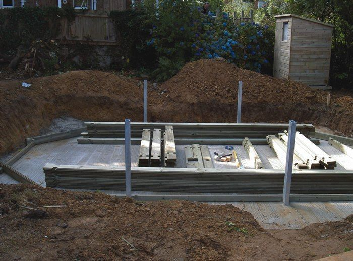 Belgravia Stretched Octagonal Wooden Pool From Plastica