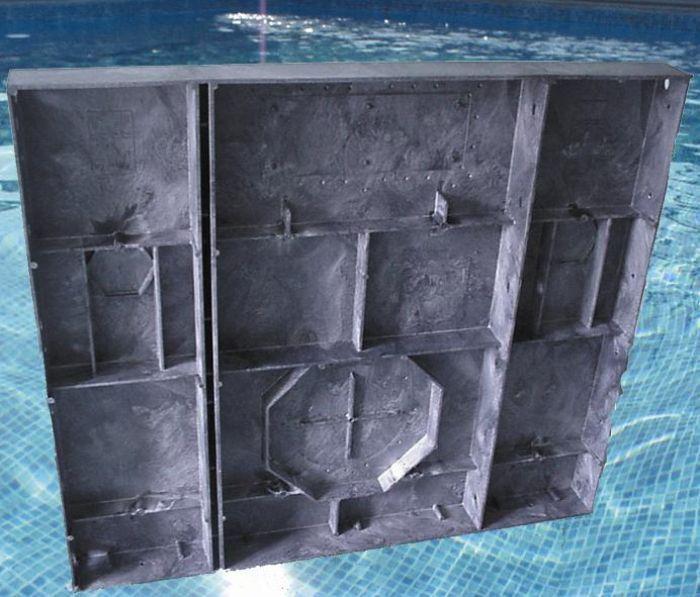 Kafko Diy 4ft Polymer Panel In Ground Swimming Pool Kit
