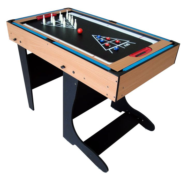 Bce 4ft 12 in 1 folding multi games table m4b 1f for 12 in one game table