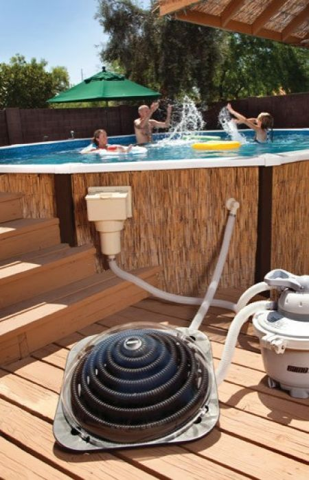 Solar Pod Plus Solar Heating Kit For Swimming Pools Pool