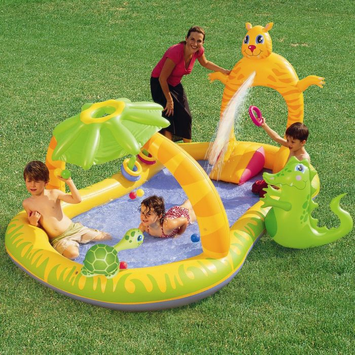 Jungle Safari Play Centre Paddling Pool - 53030 Thumnail #1